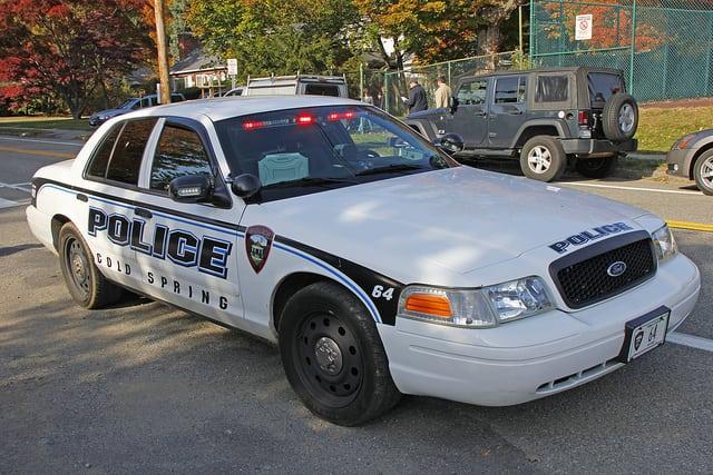 cold spring police car