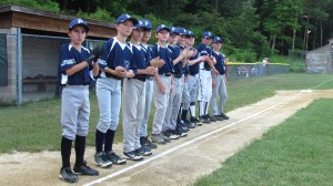Little League team