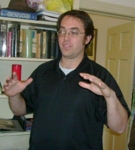 Pastor Ben Larson-Wolbrink