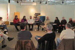 Galef and constituents at a previous Town Meeting at the Desmond-Fish Library in Garrison (Source: Assembly website)
