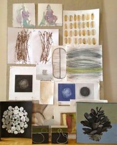 Julie Tooth collage of artworks