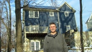 NYSERDA estimates that the system Peter Henderson installed in November 2012 will produce 102 percent of his Marion Avenue home's electricity needs.Photo by M. Turton