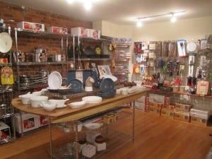 Utensil tables and shelves