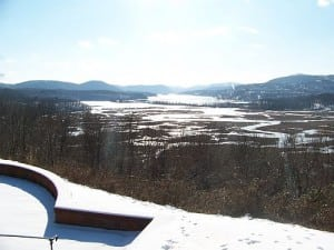 View from the Belvedere at Boscobel (Photo courtesy of Boscobel)