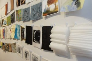 The Big Draw contains artworks available for sale for $50 each.Photo courtesy of BeaconArts