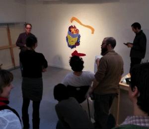A recent meeting of the Peekskill Artist Club