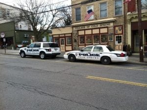 The Cold Spring police department on Main Street (photo by K.E. Foley).