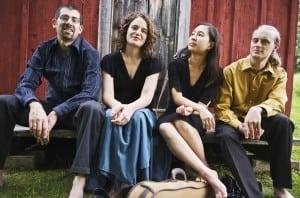 Chiara Quartet (photo by Liz Linder)