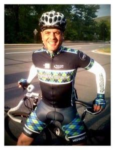 Clemson Smith Muniz in the THX 'away' jersey (photo by Kathleen Vedock)