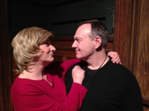 Rhonda Smith and Brendan Ryan in Prisoners at the Depot Theatre