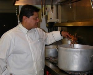 Chef John Guerrero adds contemporary tastings to the menu at the historic Hudson House River Inn.
