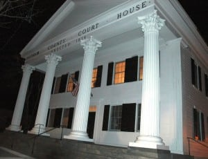 The Putnam County Legislature meets in the historic Old Courthouse in Carmel. Photo by L.S. Armstrong