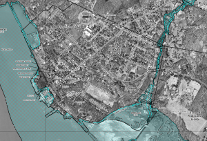 FEMA's 2013 map shows flood-prone Cold Spring areas along the Hudson River and Foundry Brook.