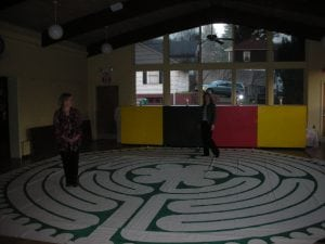 The labyrinth at the First Presbyterian Church in Cold Spring (Photo courtesy of First Presbyterian)