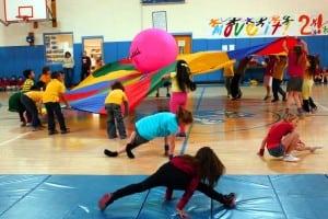 Garrison School second graders in Move It 2 (Photo courtesy of Garrison School)