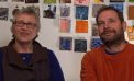 Artists Marnie Hillsley and Simon Draper (Video)