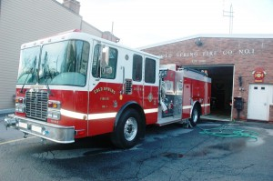 The Cold Spring Fire Company will open its doors and showcase its activities April 28. Photo by L.S. Armstrong