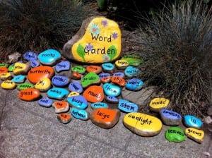 Haldane Garden Word Garden