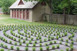 Labyrinth at Garrison Institute