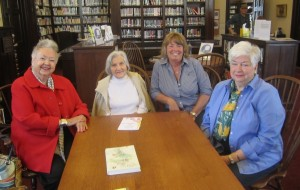 Ladies of the PGC: Grazia Girod, left, Libby Healy, Beverly Leardi and Margaret O'Sullivan. Photo by A. Rooney