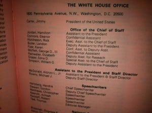White House Office Staff