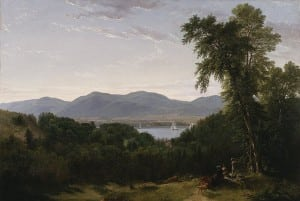 Asher Brown Durand's painting 'Beacon Hills on the Hudson River, Opposite Newburgh,' ca. 1852