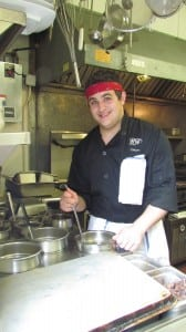 Haldane senior John Azznara studies culinary arts at BOCES.