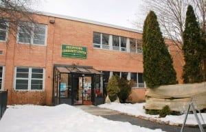 The Philipstown Community Center-Recreation Center, last winter; file photo by L.S. Armstrong