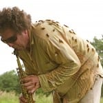 David Rothenberg plays with cicadas (Photo by Umru Rothenberg)