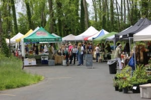 The Cold Spring Farmers' Market returned outdoors to Boscobel