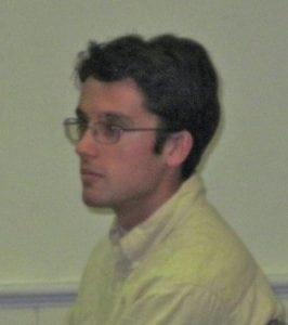 RobertoMullerofColdSpringpresentedonaresolutiononIndianPointattheJune6TownBoardmeeting. PhotobyL.Powers