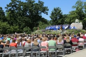 Haldane High School's graduation ceremony June 15