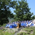 Haldane High School's graduating Class of 2013 June 15
