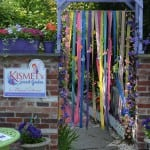 Entrance to the Secret Garden at Kismet at Caryn's in Cold Spring (Photo by Jeanne Tao)