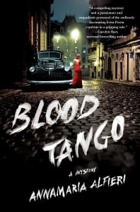 The cover of Blood Tango, Patricia King's latest novel