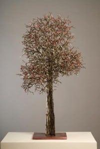 'CherryTree'metalsculpturebyInsunKim(PhotobyHowardGoodman)