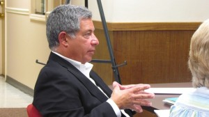 Developer Paul Guillaro attended the July 25 meeting of the Cold Spring Village Board.