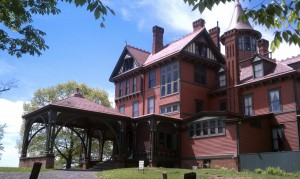 Wilderstein represents a significant example of Victorian architecture in the Hudson Valley.