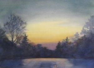 """Night Sky"" by EllenHopkinsFountain"