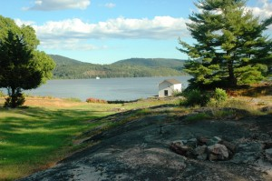 A view of the Hudson River from Constitution Island Photo by L.S. Armstrong