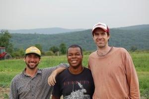 PGCinternYemCarabello(center)atGlynwood,withJarrettNelson,left,andDaveLlewellyn