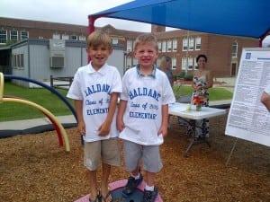Haldane kindergarteners