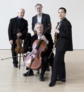 JuilliardStringQuartet:RonaldCopes,left,andJosephLin,violins,RogerTapping,viola,andJoelKrosnick,cello PhotocourtesyofHowlandChamberMusicCircle