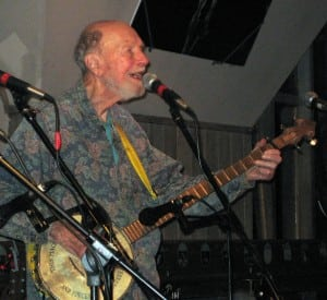Pete Seeger (Photo by Kate Vikstrom)