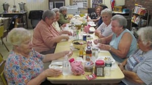 The Putnam County Office for the Aging offers a lunch program for seniors at the Friendship Center located in the American Legion Hall in Cold Spring.