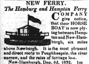 horse powered ferry
