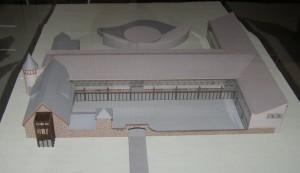 Thisrepresentationofastructurevisualizesaretreatcenter,aplanforthefuture,atSaintBasilAcademy.