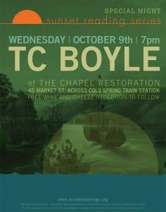 TC Boyle poster
