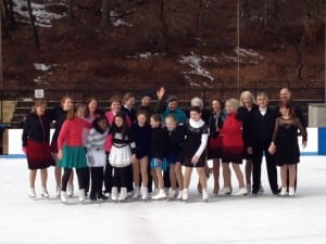 The Bear Mountain Figure Skating Club has members of all ages.