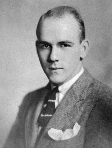 "Brooks Bowman, ""The Cole Porter of Princeton""  (1913-1937) Photo courtesy of The Salem Historical Society"